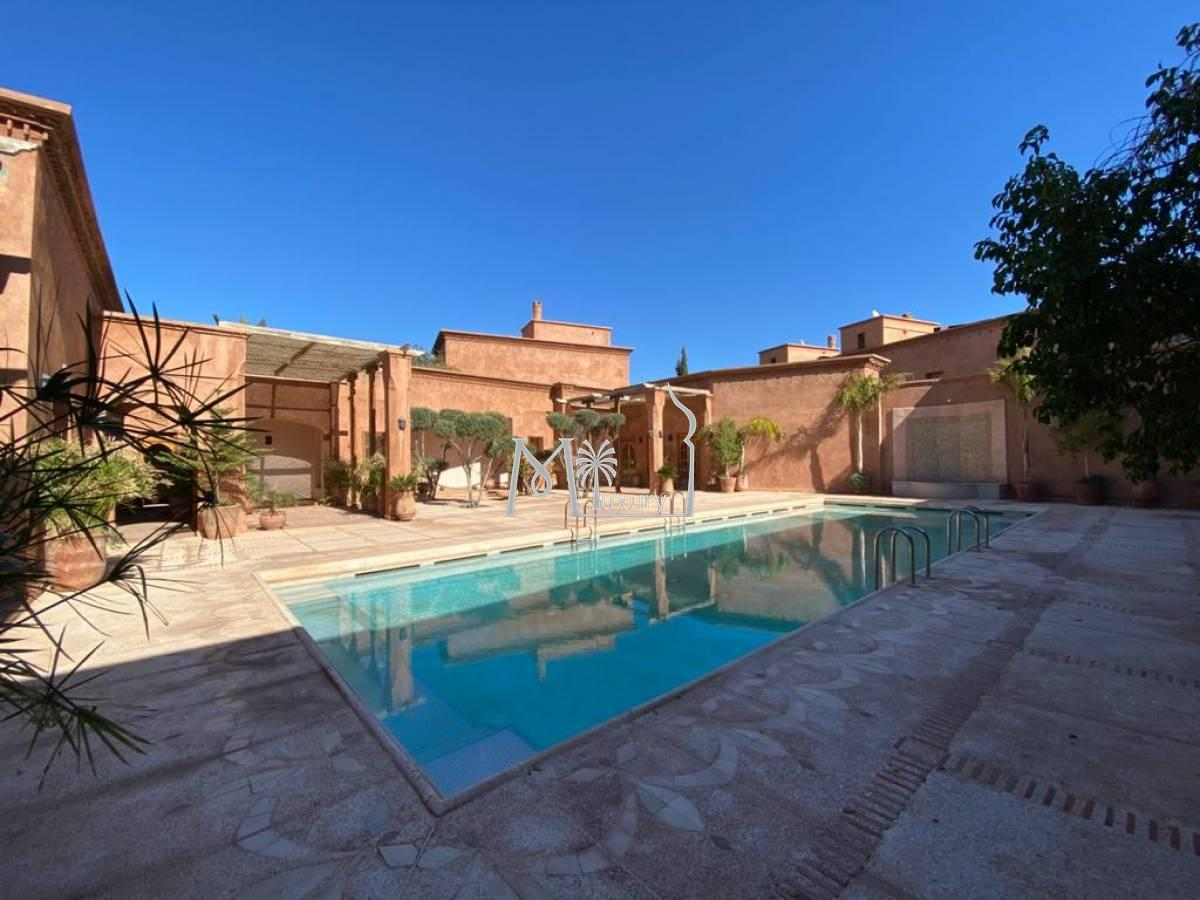 Villa style Riad à louer Agdal