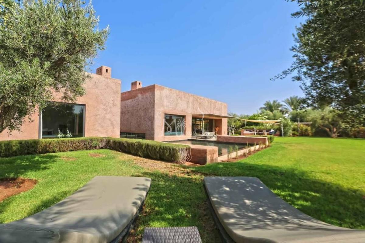 Villa plain pied route d'Amizmiz