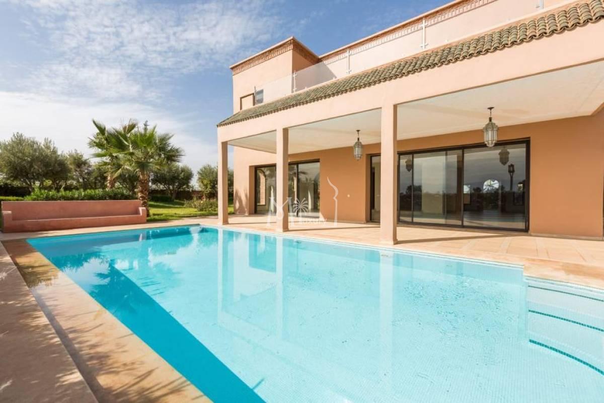 Luxueuse villa sur le Golf Amelkis