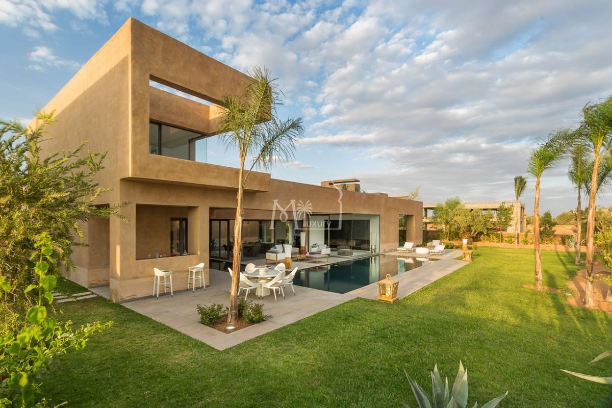 Villa de luxe route d'Ouarzazate