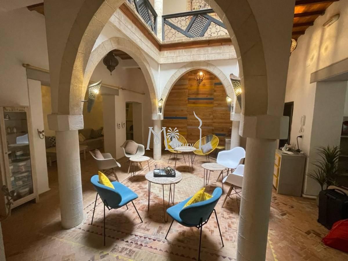 Jolie maison d'hôtes à la Médina