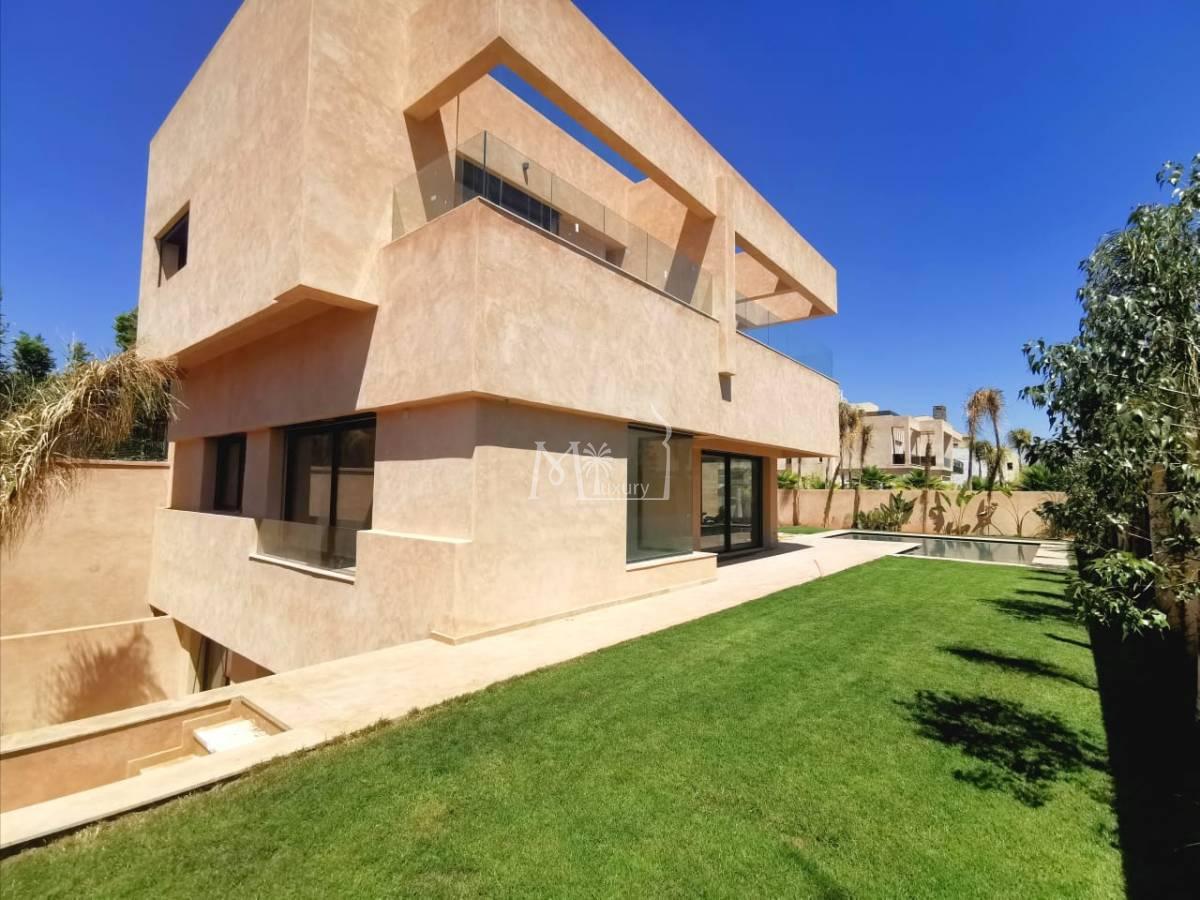 Merveilleuse villa 4 ch Agdal