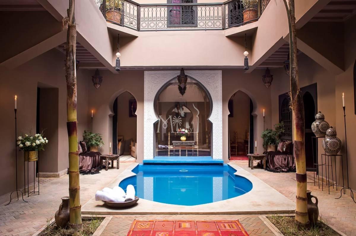 Jolie maison d'hôtes à la Medina