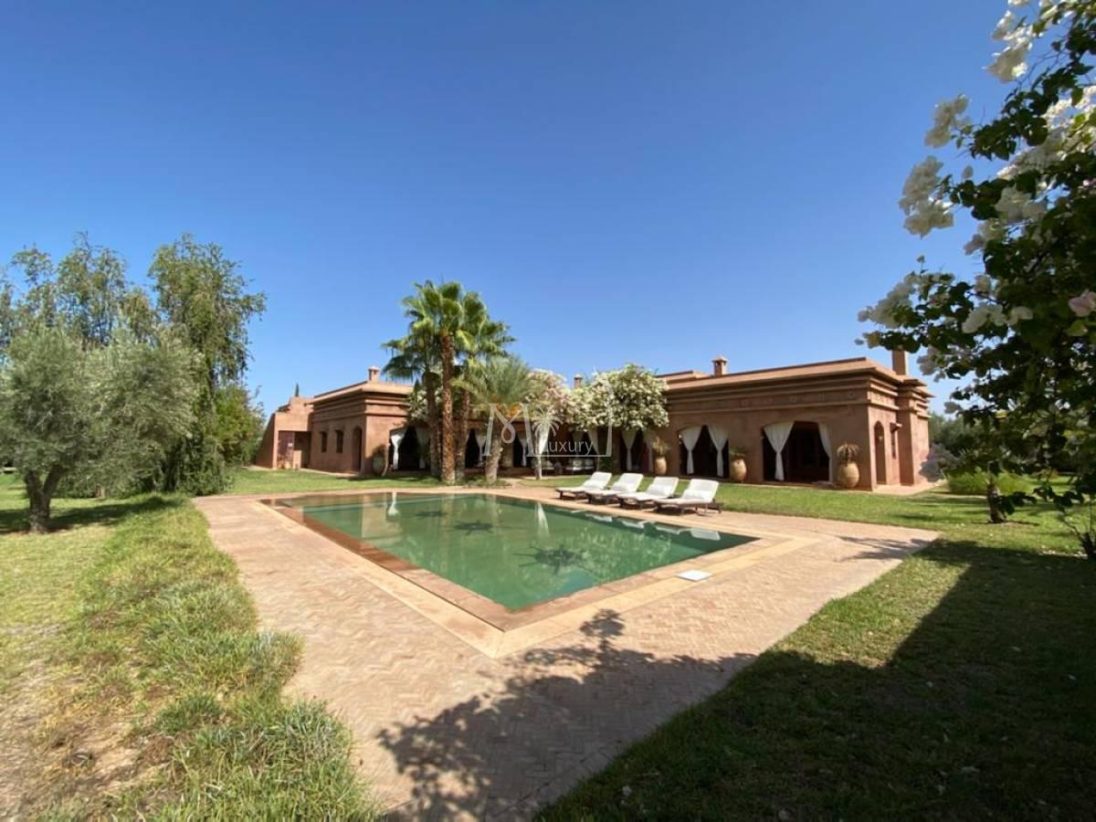 Villa à vendre Route de l'Ourika
