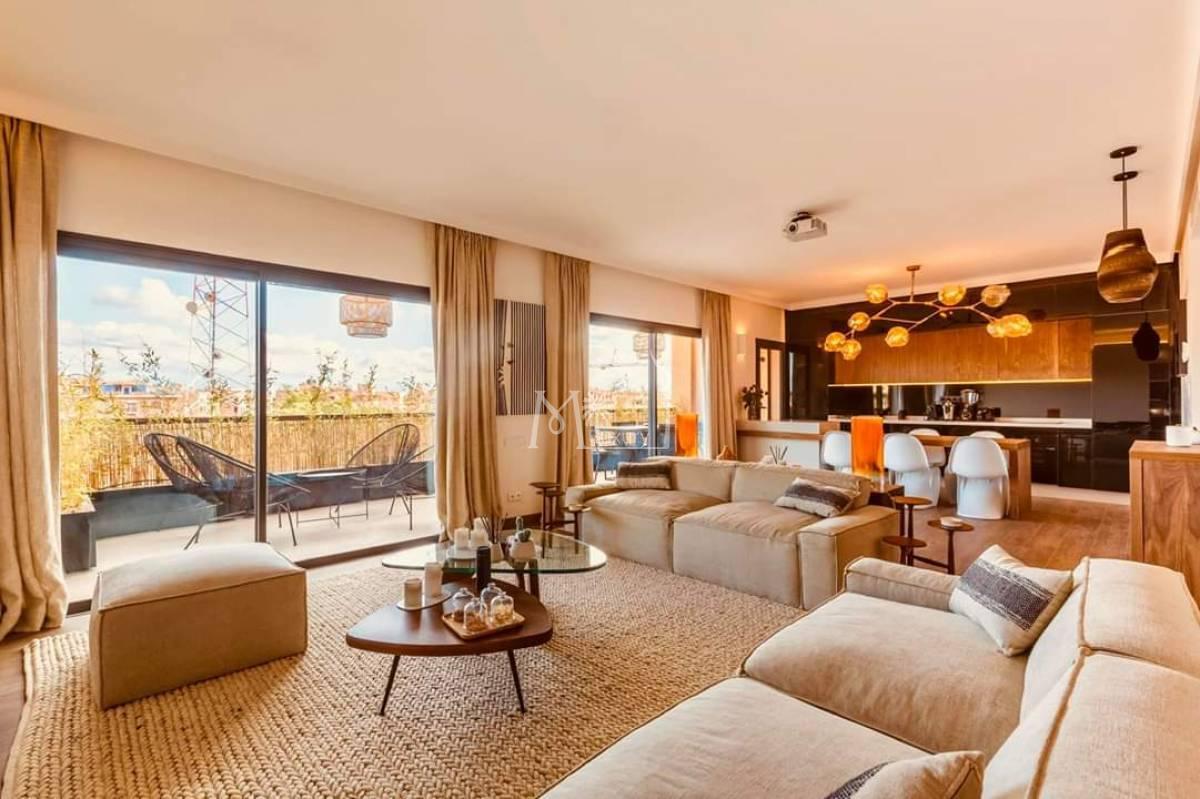 Luxueux appartement à louer Guéliz