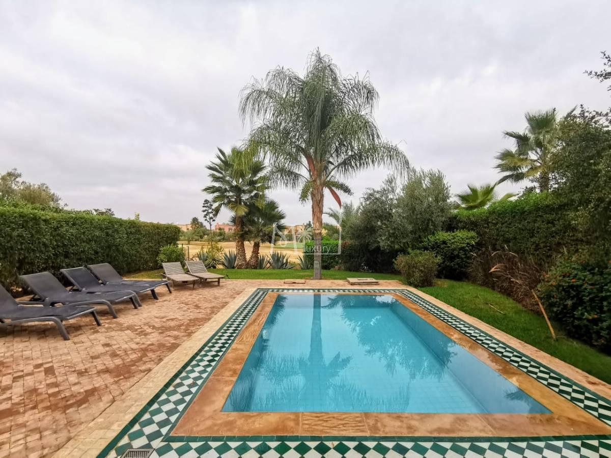 Superbe Villa à louer route d'Amezmiz