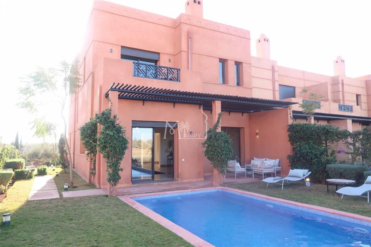 Villa contemporaine à vendre sur Golf