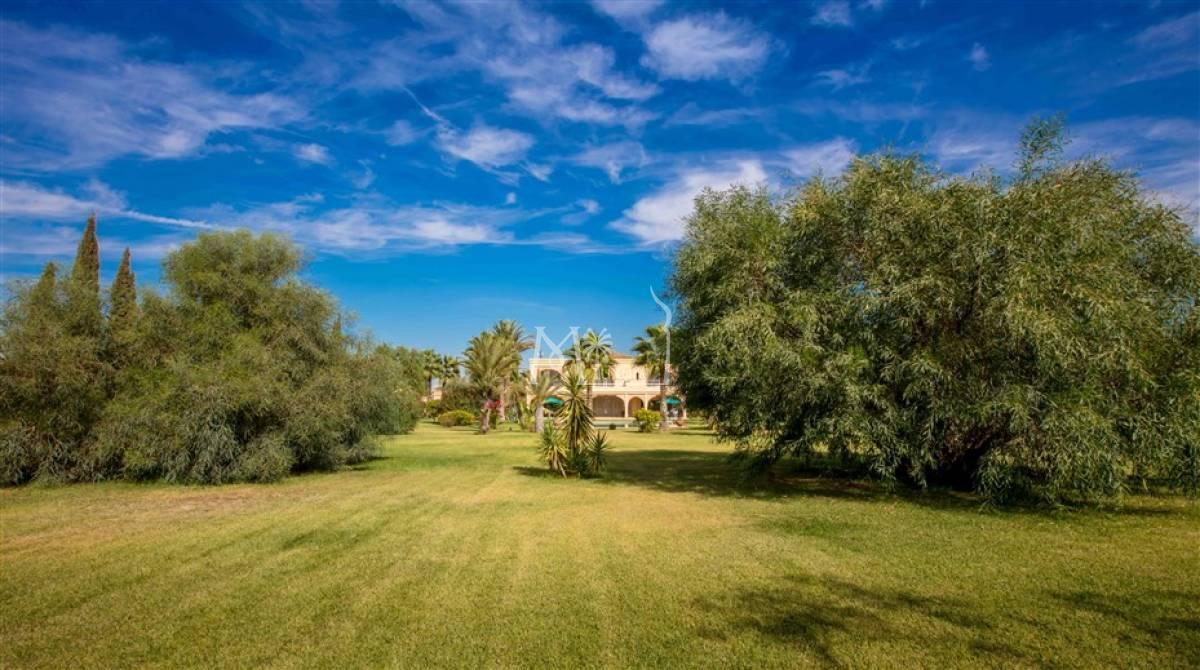 Belle villa à vendre Route de Tahanaout