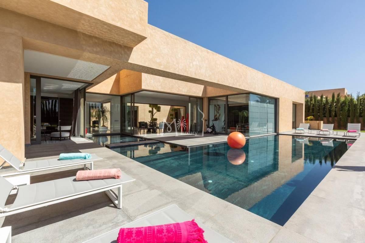 Belle villa à louer route de ouarzazate