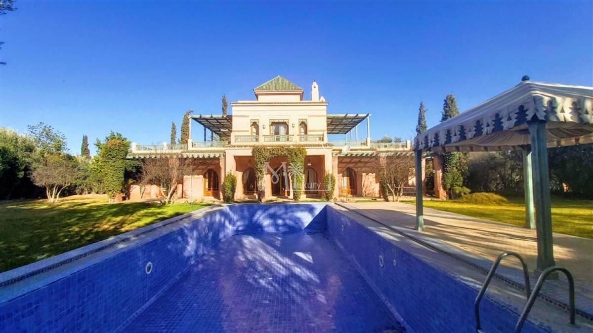Belle villa à vendre Palmeraie